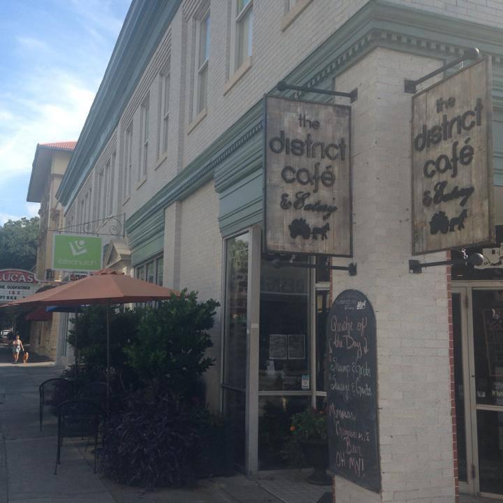 The District Cafe Amp Eatery Savannah Ga